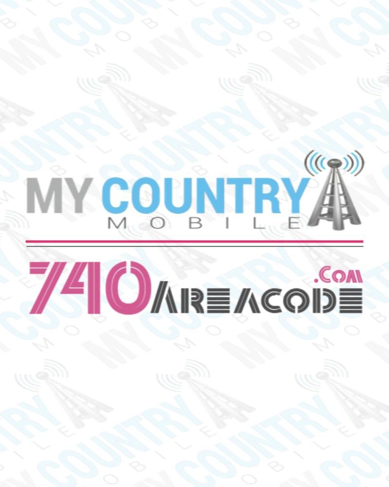 740 Area Code | Ohio Phone Area Codes | My Country Mobile